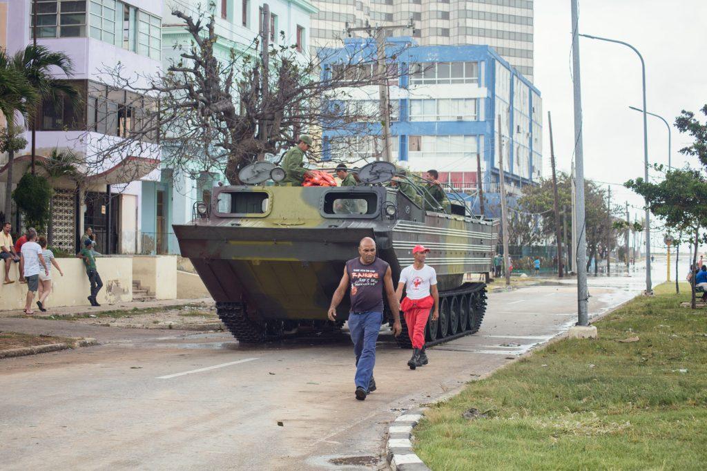Evelyn Sosa. Huracán Irma. La Habana, septiembre de 2017.