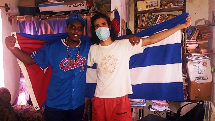 Alexander Hall Lujardo y Leonardo Romero Negrín / Foto: Tomada del Facebook de Leonardo Romero Negrín