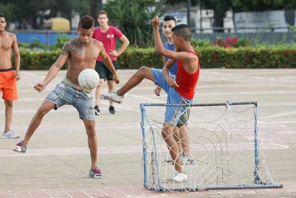 I Campeonato Nacional de Fútbol Callejero en Cuba